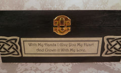 Celtic Claddagh Box Front