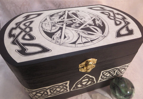 Dragon Pentacle Box