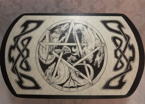 Top Dragon Pentacle Box