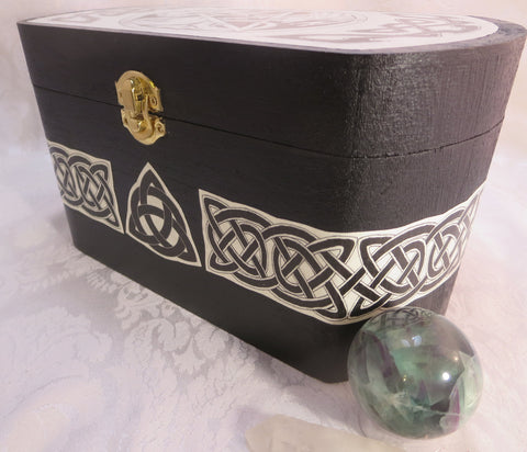Side Dragon Pentacle Box