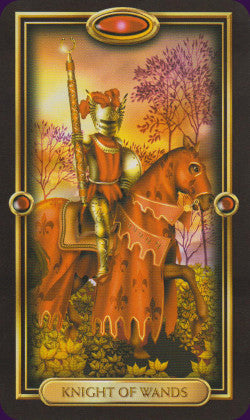 Easy Tarot Knight of Wands