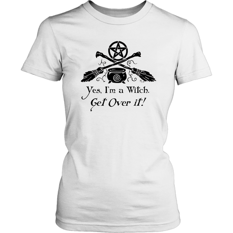 Yes I'm a Witch Womans Tee Shirt