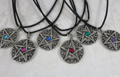 Pewter Pentacles Assorted