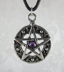 Pewter Pentacle Close Up
