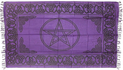 Purple Altar Cloth 44 x 72
