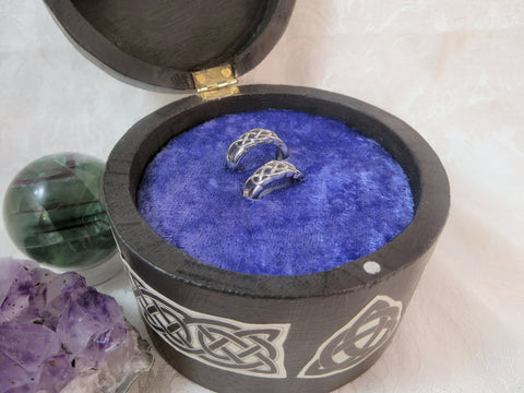 Velvet Foam Ring Insert for Small Boxes