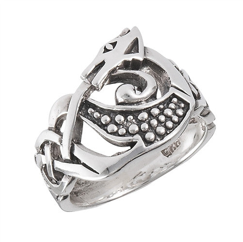Celtic Dragon Ring