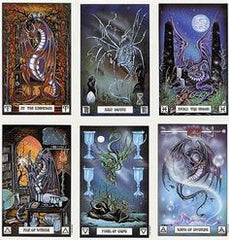 Dragon Tarot Deck Cards Sample