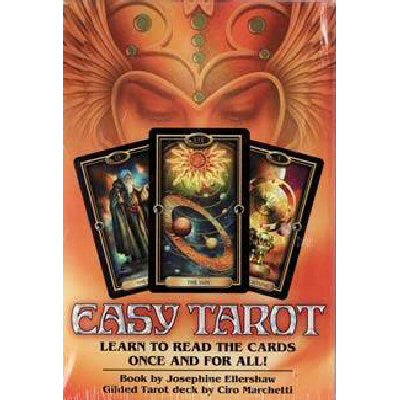 Easy Tarot Boxed Kit Deck and Book