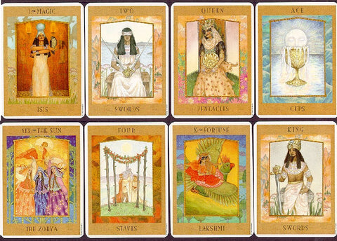 Goddess Tarot Cards Sample