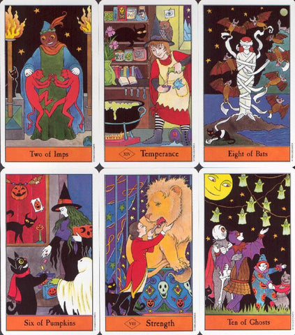 Halloween Tarot Deck Cards Sample