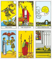 Rider Waite Tarot Cards Sample