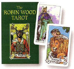 Robin Wood Tarot Box and Cards
