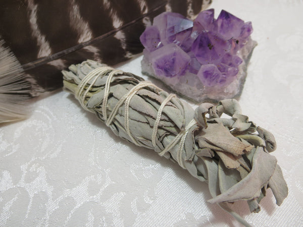Small White Sage Smudge Bundles
