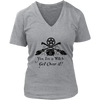 Yes I'm a Witch Womans V-Neck Shirt