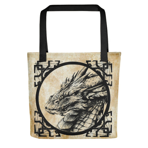 Smaug Dragon Tote bag