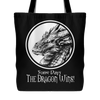 Funny Some Days the Dragon Wins Tote Bag