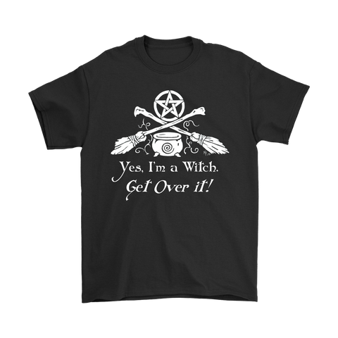 Yes, I'm a Witch Funny Wiccan Pagan T-Shirt