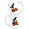 Fun Halloween Themed Witchy Raven Mug