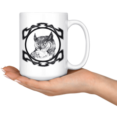 Celtic Owl Mug
