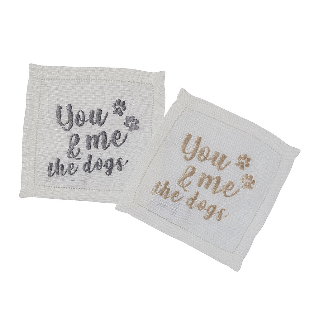 Dogs Cocktail Napkin