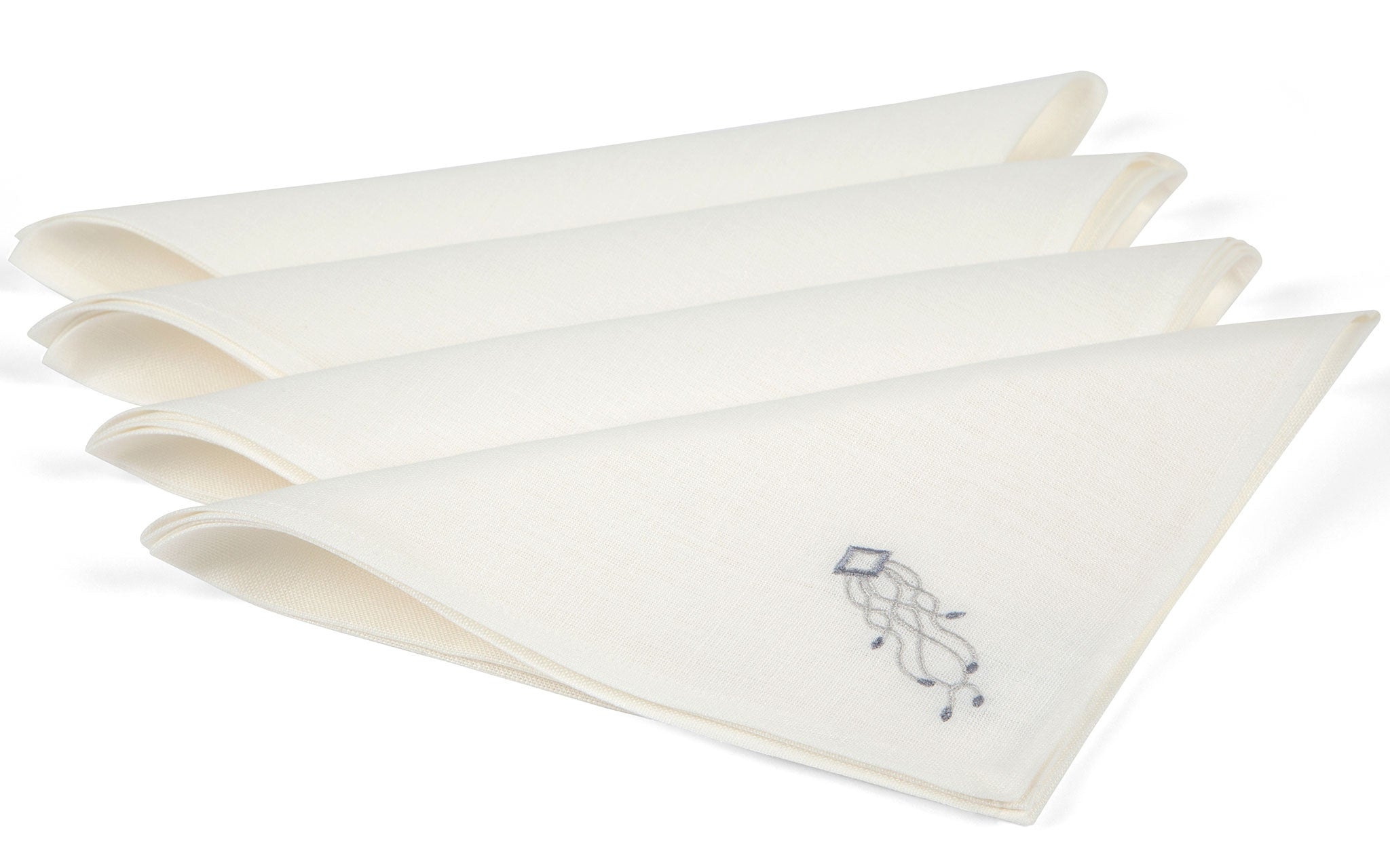 Olog Napkins - Stone on Cream