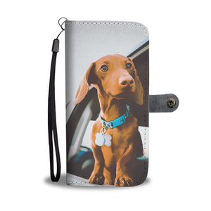 Beautiful Personalized Phone Wallet - Daschund