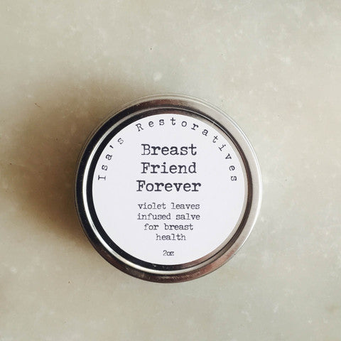 Isa's Restoratives Breast Friend Forever Salve