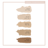 Fitglow Beauty Conceal+ Concealer swatches