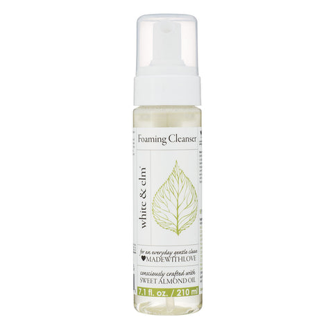 White & Elm Sweet Almond Foaming Cleanser