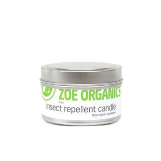 Zoe Organics Insect Repellent Candle