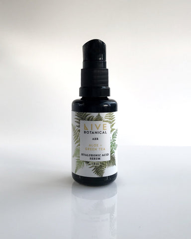 Live Botanical AER Hyaluronic Acid Serum