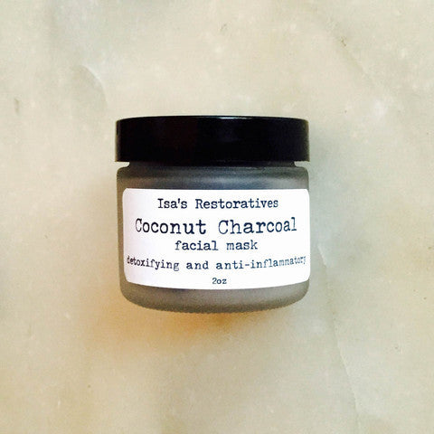 Isa's Restoratives Coconut Charcoal Facial Mask