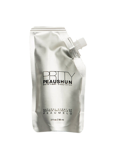 Prtty Peaushun Body Lotion 3oz. Travel Size