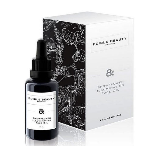 Edible Beauty Australia & Snowflower Illuminating Face Oil - 30ml