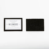 Woodlot 4Ounce Soap Bar Wildwoods Charcoal Pair