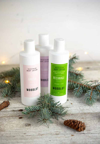 Woodlot Body Lotion - Recharge