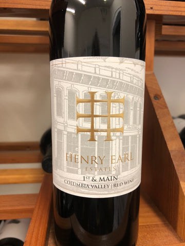 Henry Earl 1st & Main Red Blend 2015