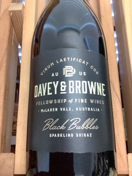 Davey & Browne Black Bubbles