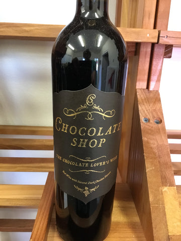 Chocolate Shop Red Wine