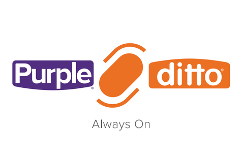 Ditto Wearable And Purple Communications Partner