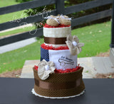 Boy Baseball Diaper Cake