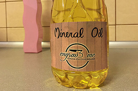 mineral oil for wooden boards