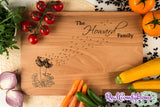 Engraved Family Name & Dandelions - Housewarming Gift For Family