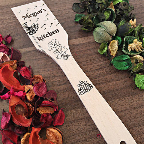 Personalized Spatula For The Chef - Kitchen Gift Idea