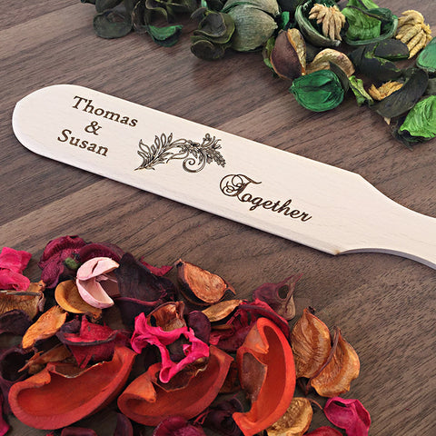 Personalized Spatula For The Couple - Custom Engraved Gift