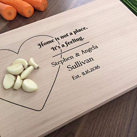 Home Is Not A Place It's A Feeling - Unique Personalized Gift