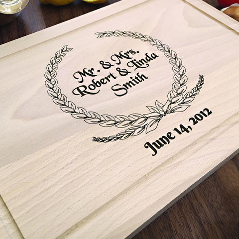 Personalized Housewarming Gift Idea - Custom Engraved Cutting Board