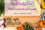 Engraved Family Name - Personalized Cutting Board