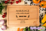 Marriage Is Like A Walk In The Park - Funny Gift For Newlyweds